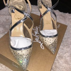 huge selection of 39dc4 69b79 Women Christian Louboutin Wedding Shoes on Poshmark
